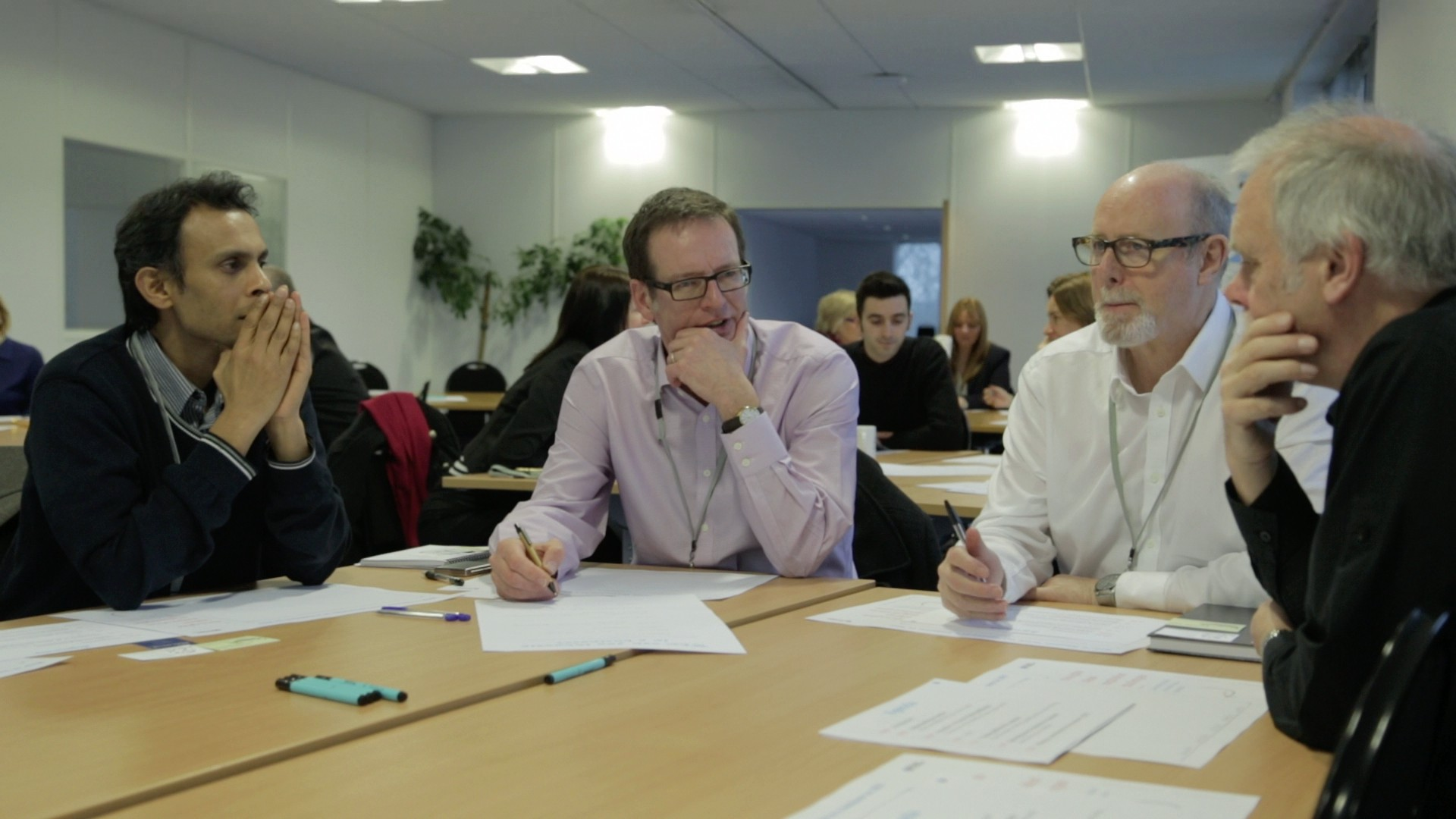 Participants explore how to become more innovative during the Chamber's January Masterclass run by strategic innovation consultancy Stocker Partnership
