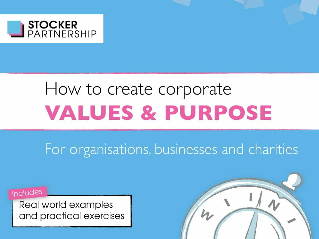 How to create corporate values and purpose