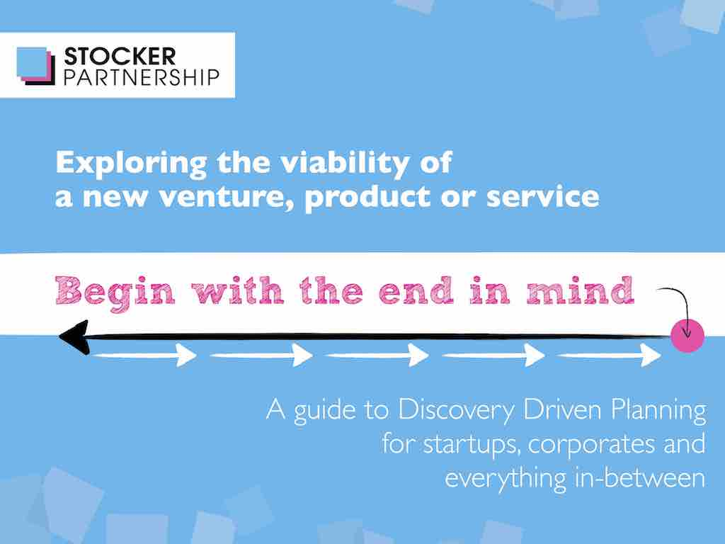 No categories	Discovery Driven Planning for new ventures, products and services