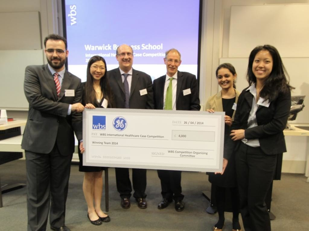 Winners 2014 WBS Case Competition